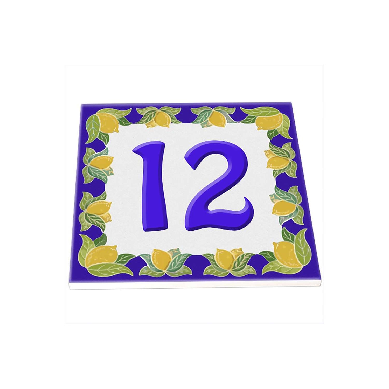 Numero civico da personalizzare con numero