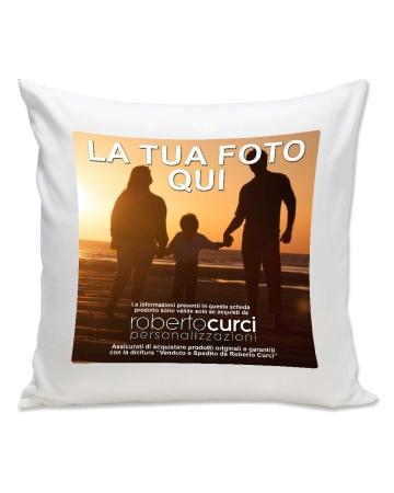 Cuscino Quadrato Personalizzato Con Foto - 40x40cm