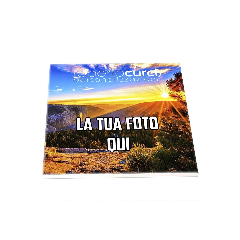 Mattonella in Ceramica 15x15 cm Personalizzata con Foto