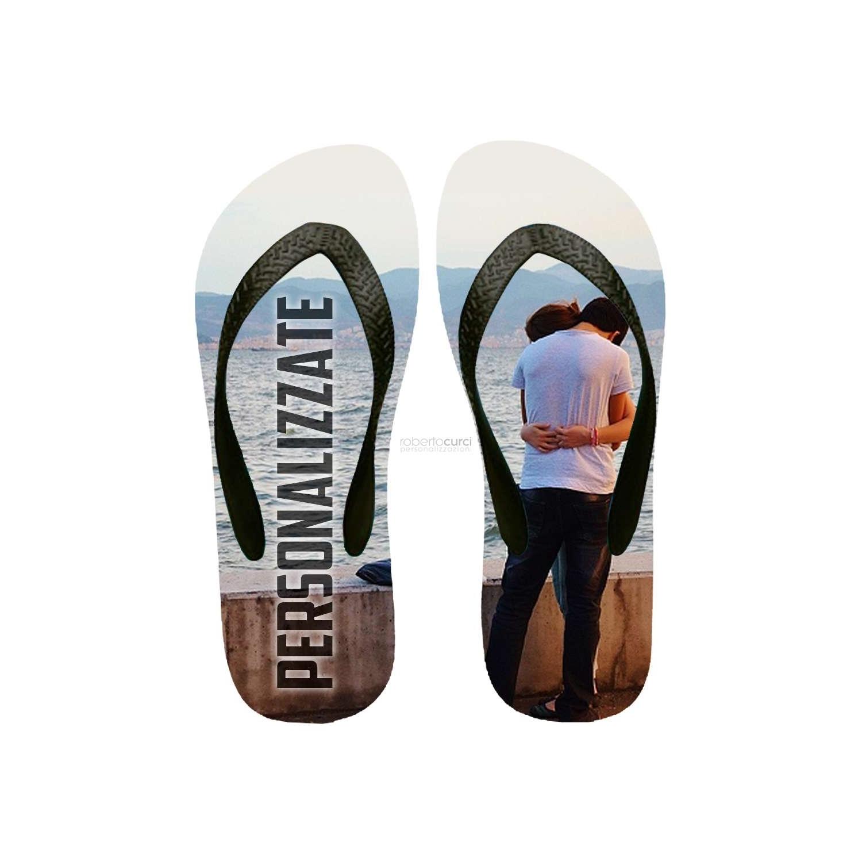 Infradito (Flip Flop) Personalizzati con la tua foto e testo