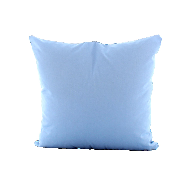 Retro Cuscino Personalizzato Ho Il Cuore Azzurro Tifoso Calcio - Squadra del cuore