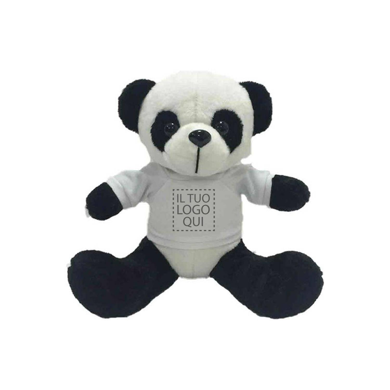 Peluche Panda con T-Shirt Stampata Personalizzata