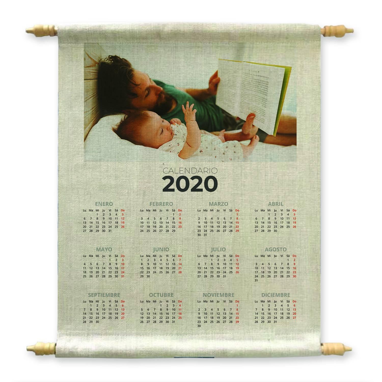 Calendario in Tela Personalizzato con foto
