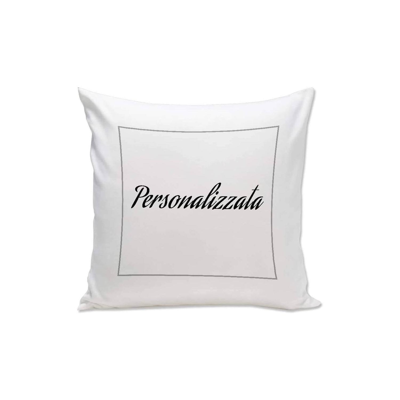 Cuscino personalizzato su due lati