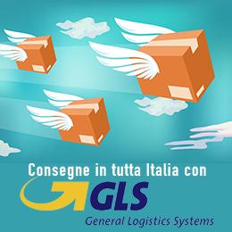 Spedizioni in tutta italia con corriere GLS