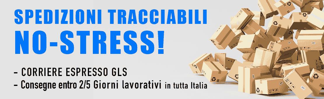 Spedizioni in tutta italia in 2 giorni
